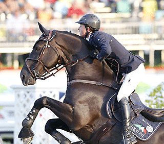 Ben Maher (GBR) and TRIPPLE X: The Longines Global Champions Tour of Estoril  - Photo credits: Stefano Grasso/Longines Global Champions Tour