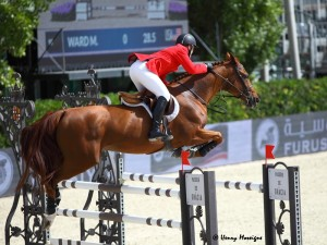 McLain Ward and Rothchild - FEI Nations Cup Finals 2013 - Photo courtesy of Henry Moreigne - © HMP Photography