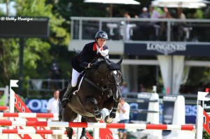 Ben Maher and TRIPPLE X had an uncharacteristic off-day in the Qualifier. - Photo courtesy of Henry Moreigne - © HMP Photography