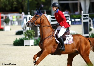 Last month in Lausanne, US teammates 20-yr-old Lucy Davis and BARRON were the youngest-ever winners on the Global Champions Tour. - Photo courtesy of Henry Moreigne - © HMP Photography