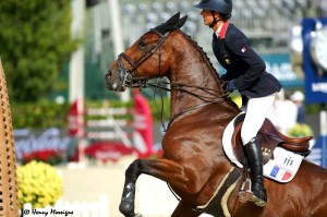 France's final 'anchor' rider Penelope Leprevost and NAYANA contributed to French success in the Finals. Photo courtesy of Henry Moreigne - © HMP Photography
