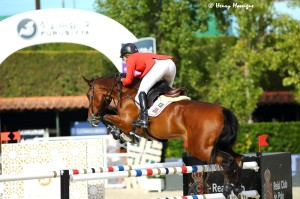 Young sensation Lucy Davis and her amazing horse Barron. - Photo courtesy of Henry Moreigne - © HMP Photography