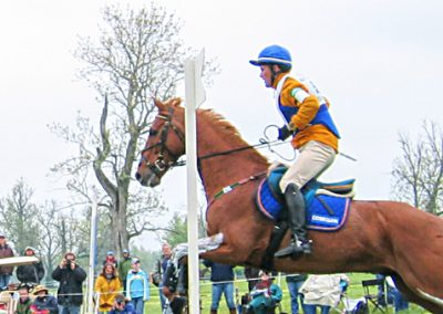 "Phillip Dutton on ""Loose'n Cool"" Rolex Kentucky Three Day Event negotiating the coffin obstacle.  Photo: Ronald C. Yochum, Jr. / Wikimedia / CC BY-SA 2.5"