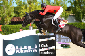 Beat Mandli and CROESUS (SWI) - 2013 Furusiyya FEI Nations Cup Finals - Photo courtesy of Henry Moreigne - © HMP Photography